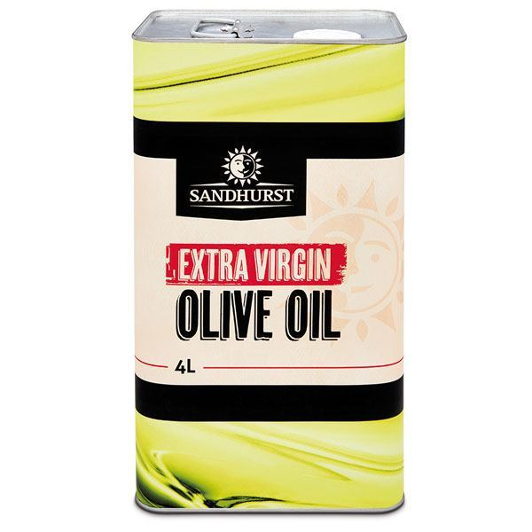 Extra virgin olive oil in dalda