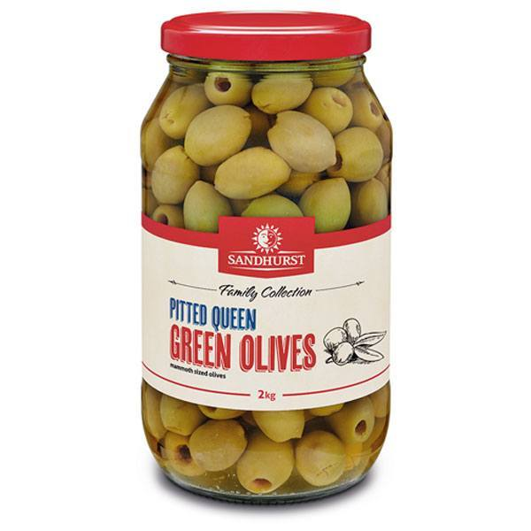 Pitted-Queen-Green-Olives-2kg