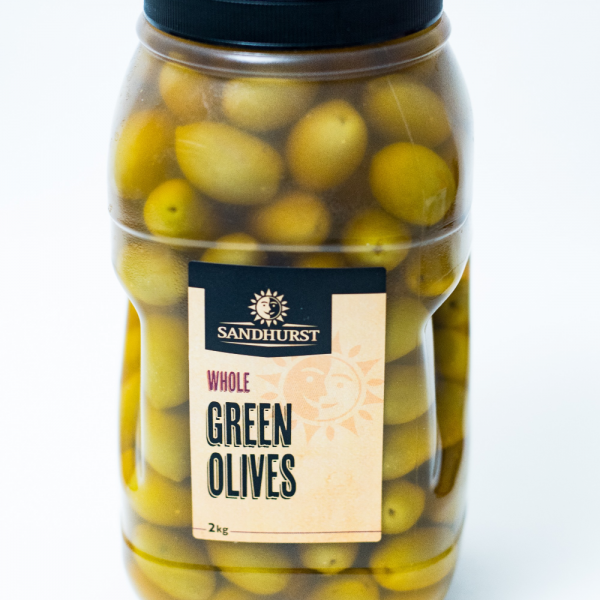 Whole Green Olives Square Plastic_ GROP2