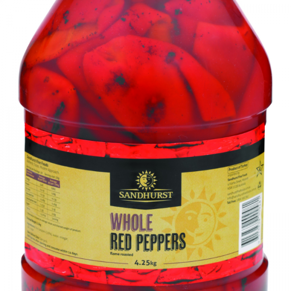 Red Roasted Pepper Fillets - Plastic- RPR42(3)P CMYK
