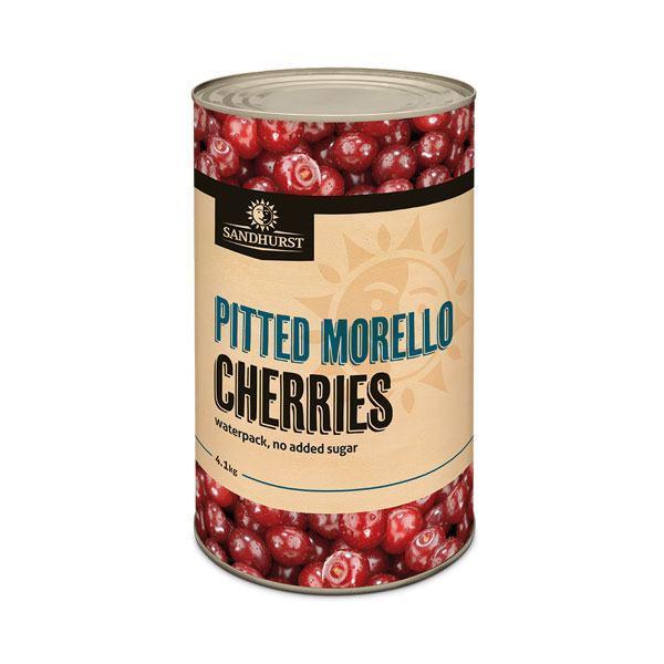 Pitted Morello Cherries - Sandhurst Fine Foods