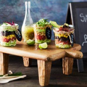 Tex Mex Salad in Jar